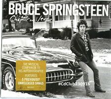 Bruce Springsteen Libro Born to run + CD Chapter and Verse (new album/sealed)