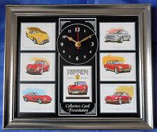 Ferrari 1950-1960 Stunning Collector Cards Wall Clock