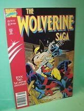 Wolverine Saga #2 Book Two Animal Unleashed 1st Print Marvel Comics Comic VF