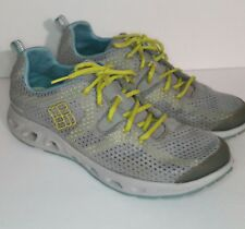 Columbia Drainmaker II Women's 12 Trail Water Running Shoes Sneakers Spartan EUC