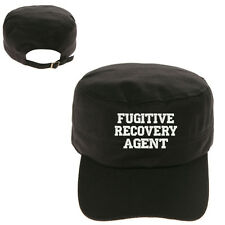 FRA FUGITIVE RECOVERY AGENT MILITARY CADET ARMY CAP HAT HUNTER CASTRO