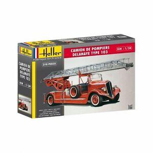 HEL80780_D - Heller 1:24 - Camion Pompiers Bonneville (Damaged Box)