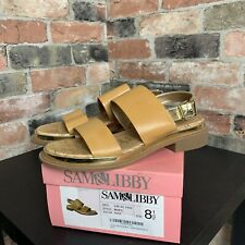 7bca10abe Sam   Libby Women s Sandals Marci Nude Size 8.5 ...
