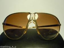 Occhiali da sole vintage in oro