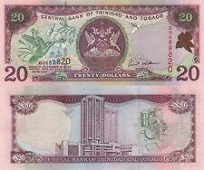 Trinidad and Tobago 20 Dollars (2002) - Hummingbird/Bank/p44 sign Williams UNC