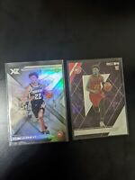 CAM REDDISH ROOKIE CARD LOT (2) SILVER 2019-20 CHRONICLES XR + RECON RC. Hawks