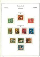 Luxus Spezial-Sammlung BRD 1963-1979 Tagesstempel Nürnberg - 90% Nünberg Stempel