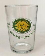 West Germany Schmitt Sohne Wines Shot Glass Travel Souvenir Barware