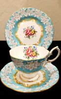 Royal Albert Enchantment Bone China Tea Cup, Saucer, & Plate