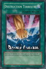 Yu-Gi-Oh ! Carte Destruction Terrestre 5DS1-FR024 - VF/Commune