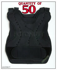 50 QTY AIRSOFT Body Armor Protection Youth PAINTBALL CHEST Back PROTECTOR