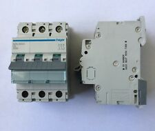 HAGER NDN 306A 6A Triple Pole Type D Miniature Circuit Breaker MCB Brand New!!
