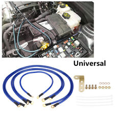 5pcs Universal 5-Point Auto Car Earth Cable System Ground Grounding Wire Kit LJ4