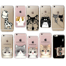 Funda Carcasa Back Pattern Soft TPU Silicone Case Cover For iPhone 6 6s 7 7Plus