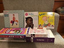 New listing Lot Of 8 Pregnancy Books/Journals & Advice/New & Used