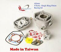 Racing 9 ports 50cc kit L/C For Minarelli 50cc ATV APEX ProMX 50 DRR DRX50 US TW