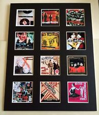 "THE LIBERTINES DISCOGRAPHY PICTURE MOUNTED 14"" By 11"" READY TO FRAME"