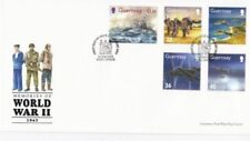 WWII First Day of Issue Used Great Britain Stamps
