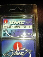 New~5 ct. VMC EXPERT OCTOPUS CONE CUT POINT LIVE BAIT Hooks 7/0 #8299PS BIG GAME