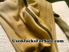 New listing used jock strap athletic supporter adult white medium