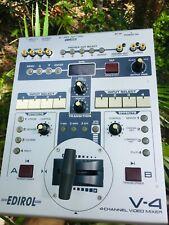 Edirol V-4 Roland 4 Channel Video Mixer (MINT)