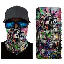 Face Mask Balaclava Neck Scarf Fishing Cover Sun Gator Headwear US USA Liberty