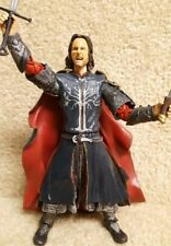 Complete Toybiz Lord of the Rings Return of the King Pelennor Fields Aragorn