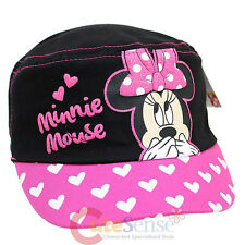 Disney Minnie Mouse Pink Bow Military Cap Kids Adjustable Hat : Oops!