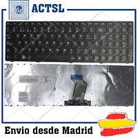 TECLADO ESPAÑOL para PORTATIL LENOVO IdeaPad B570 B570A B570G B570E Black Frame