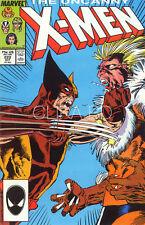 UNCANNY  X-MEN N° 222-1987 . COMME NEUF. RARE.WOLVERINE BATTLES SABRETOOTH C/S