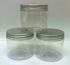 20 x 200ml Squat Empty Lotion Tub/craft/cosmetic pot/make up/container - C/M