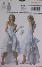 12514-NEW PATTERN WEDDING DRESS EVENING WEAR 18 20 22 24 26 28 30 32