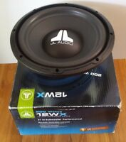 JL Audio 12WX 12WX-4 200 Watts 12-Inch Subwoofer Driver New