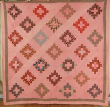 GORGEOUS Vintage PRE CIVIL WAR 1850's Chimney Sweep Album Patch Quilt Quilt!