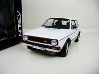 1:18 Norev VW Golf 1 GTI 1977 weiss Limited Edition 1000 NEU NEW