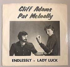 Pat McInally Cliff Adams Cincinnati Bengals 45 Endlessly/Lady Luck Rare!