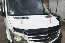 Front Upper Hood Grille Cover Protect CHROME Trim MERCEDES SPRINTER W906 2006 >
