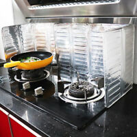 Aluminium Oil Splash Guard Kitchen Cooking Frying Pan Oil Splatter Screen Cover