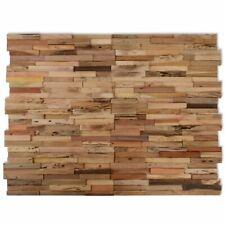 Wandverkleidung 10 Stk. 1 M² Recyceltes Teak #244514