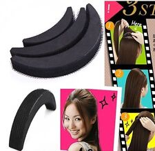 3 Piece Bump up volume hair accessories with  mystery gift