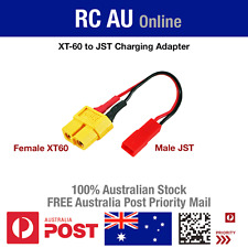 XT60 (Female) to JST (Male) Adapter - FREE Aust Post Priority Shipping