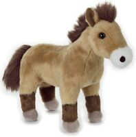 NATIONAL GEOGRAPHIC PRZEWALSKI HORSE PLUSH SOFT TOY 24CM STUFFED ANIMAL - BNWT