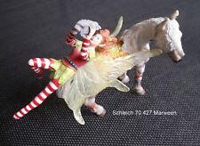 Schleich Elfen, Schleich Bayala Elfe Marween auf Pferd reitend 70427