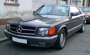 C126 Mercedes Headlight Wiper Set 4 Piece Left Right Set 420 500 560 Sec 2gen