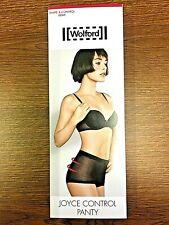 Wolford Joyce Control Panty figurformendes Höschen 38 schwarz Pünktchenmuster