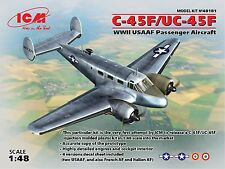 ICM 48181 UC-45F, WWII USAAF Passenger Aircraft 1/48