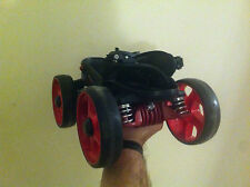 Skorpion Multi Terrain Roller Skates size small red wheels