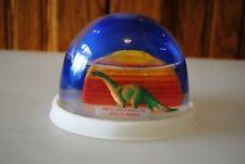 Vtg Snow Dome Globe Souvenir Marine World Africa Dinosaur #2 Snowdome Snowglobe
