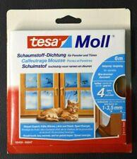 tesamoll I-Profil Schaumstoff Dichtung Tür- und Fensterdichtung  selbstklebend