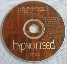Simple Minds - Hypnotised US CD Promo Custom Backing Slv